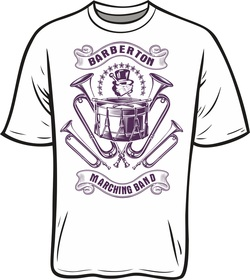 Marching Band T-shirt Designs - Barberton instrumental music ...